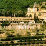 マジョルカ島の修道院