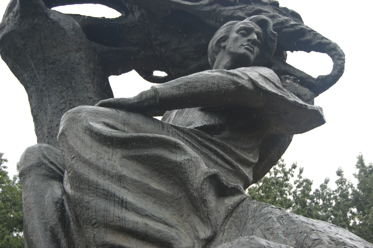 ワルシャワ ショパン像