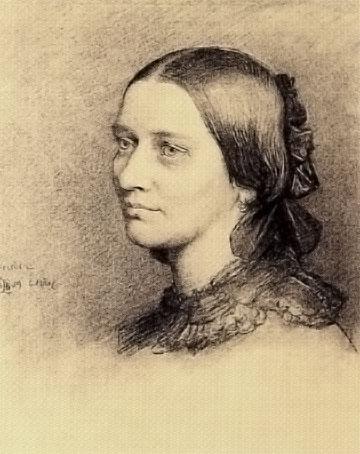 クララ・シューマン1859年