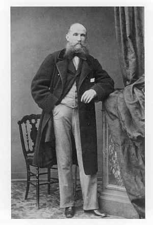 ユリアン・フォンタナ 1860年撮影