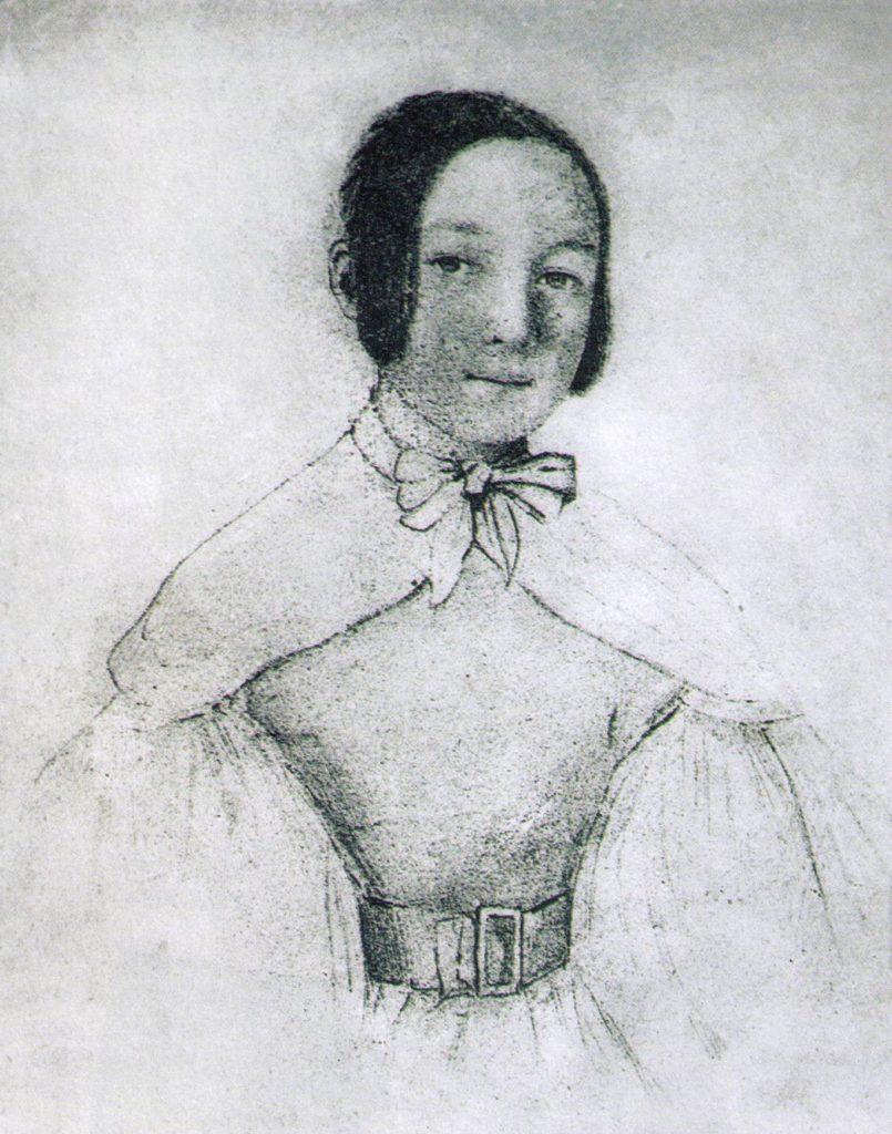 マリア・ヴォジニスキ 1930年の自画像