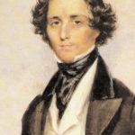 フェリックス・メンデルスゾーン 1839年に描かれた肖像画