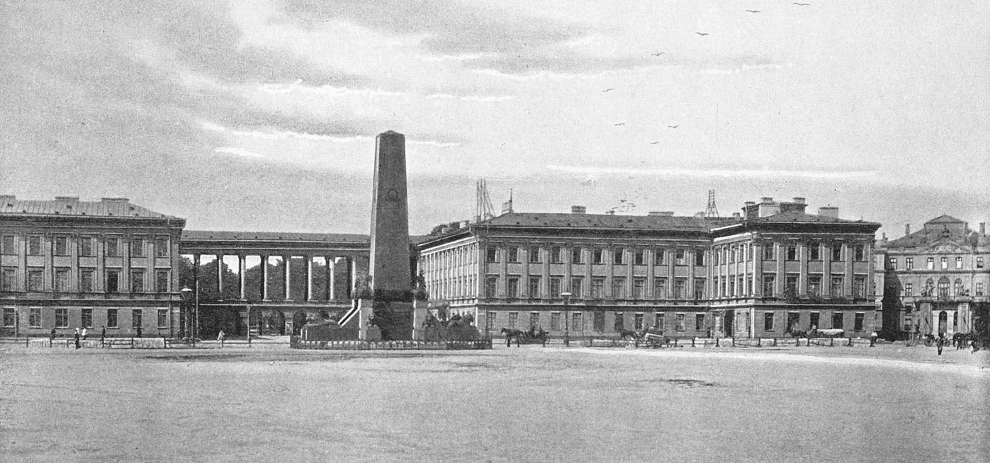 ワルシャワ サスキ宮殿 父ニコラスが宮殿内の高等中学校のフランス語教授だったため,フレデリックも7歳まで宮殿内に住んでいた。