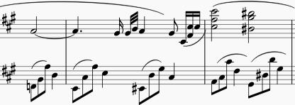 間違った弾き方。