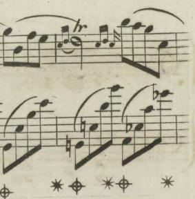 ソナタ第2番第3楽章「葬送行進曲」の中間部(イギリス初版)