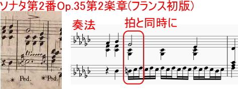 ショパンの装飾音04~下からのトリル~