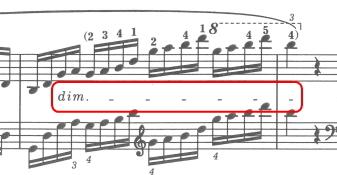 ショパン 前奏曲 Prelude Op.28-3 ト長調