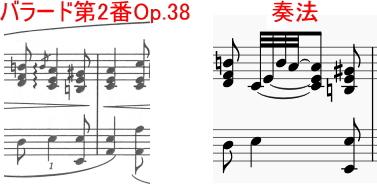 ショパンの装飾音06~アルペッジョ~