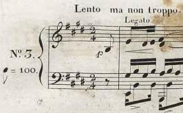 ショパン 練習曲(エチュード) Op.10-3 ホ長調『別れの曲』