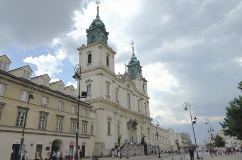 ショパンの心臓が眠る,ワルシャワの聖十字架教会