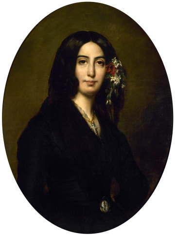 ジョルジュ・サンド 1835年の肖像画