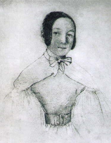 マリア・ヴォジニスキ 1830年の自画像