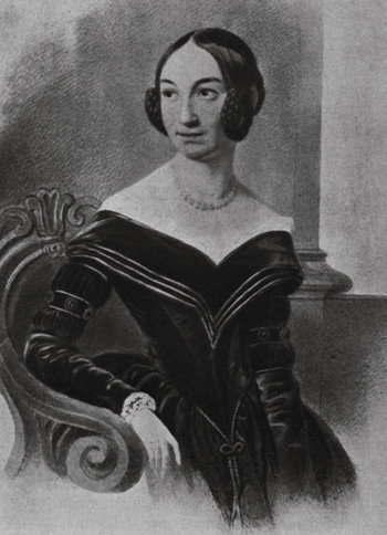 マリア・ヴォジニスキ 1840年