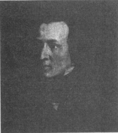 38歳のショパン。アントニ・コールベルクによる肖像画の模写。ワルシャワ,ショパン協会所蔵。