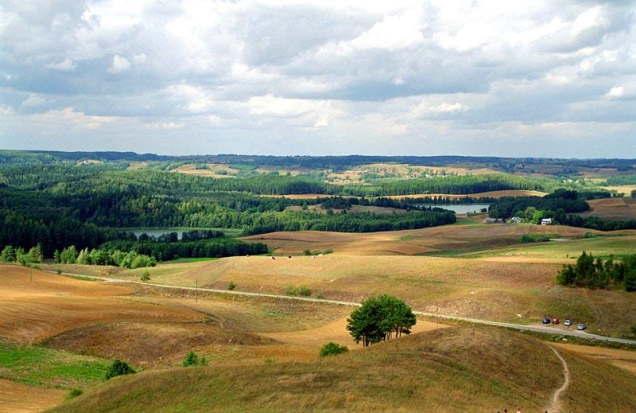 ポーランドの田園風景2006年撮影