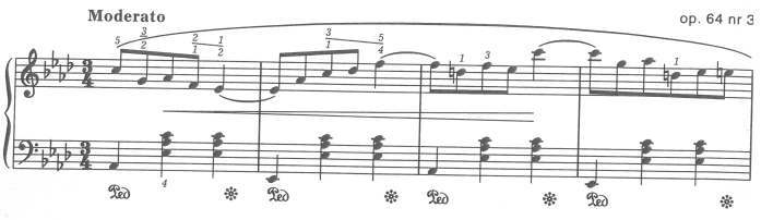 ショパン ワルツ変ニ長調Op.64-1『小犬のワルツ(子犬のワルツ)』