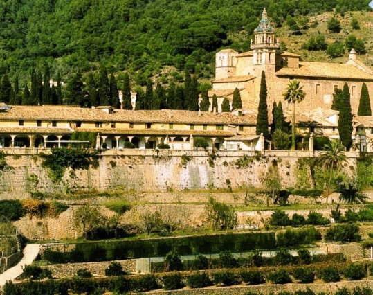マジョルカ島のヴァルデモーザ修道院