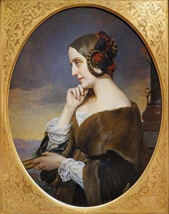 マリー・ダグーの肖像、アンリ・ラマン画